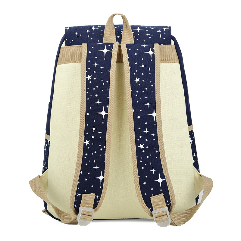 fb5cc515b1 Bokinslon Girls Travel Backpack College Wind Fashion Backpacks Bags Womens  Casual All Match Canvas Women Backpack-in Backpacks from Luggage   Bags on  ...