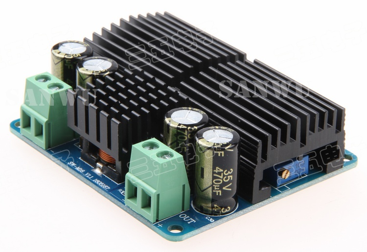 DC-DC boost power module on board large power adjustable boost module 12V to 24V