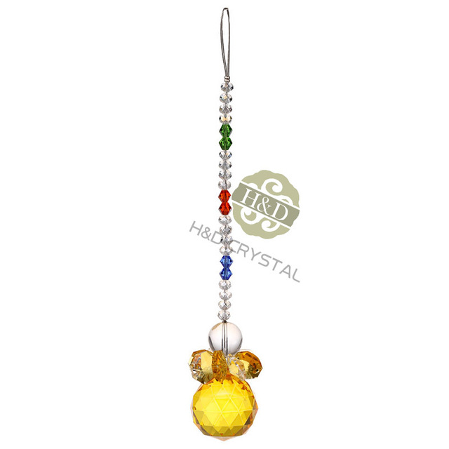 Aliexpress buy 7412 inch yellow pendant for christmas 7412 inch yellow pendant for christmas chandelier parts wedding accessories vintage decor home ornament aloadofball Gallery