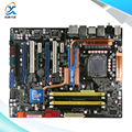 Para asus p5q deluxe original usado motherboard desktop para intel p45 atx socket lga 775 ddr2 16g sata2 usb2.0