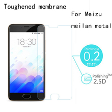 9H Hd Tempered Glass For Meizu meilan steel Premium Display screen Protector zero.2mm 2.5D Toughened Protecting Movie With Clear Package