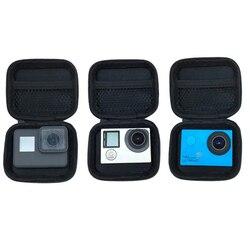 Tragbare Mini Box Xiaoyi Tasche Sport Kamera wasserdicht Fall Für Xiaomi Yi 4 K Gopro Hero 7 6 5 4 3 SJCAM Sj4000 EKEN H9 Zubehör