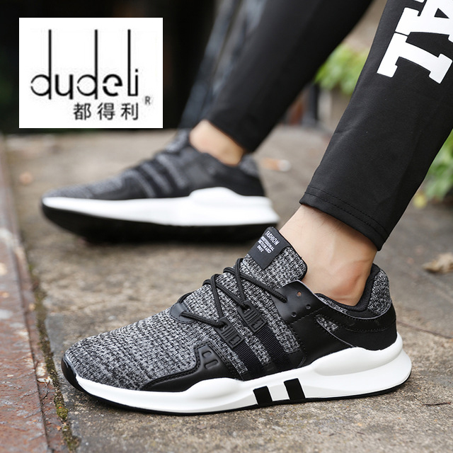 Candid Dudeli Hot Sale Running Shoes For Men Lace-up Athletic Trainers Zapatillas Sports Male Shoes Outdoor Walking Sneakers Underwear & Sleepwears