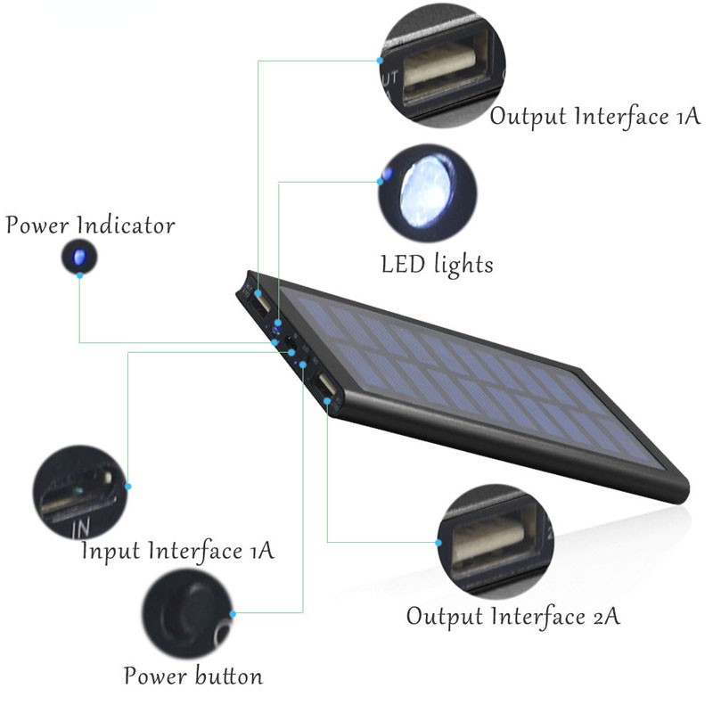 ultra thin solar charger 42