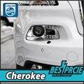 СОЮЗ Стайлинга Автомобилей для Jeep Cherokee Фар 2014-2016 Cherokee СВЕТОДИОДНЫЕ Фары СВЕТОДИОДНЫЕ DRL Би Ксенон Линзы Высокой Низкой луч Парковка