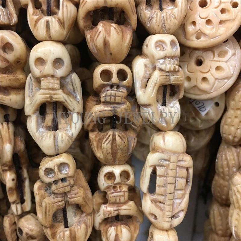 30x18mm Skeleton Skull Bone Carved Bone Charm Beads Body Bone Shape Drilled Beads Ox Bone Beads 13 Pcs Lot My0763 Charm Beads Ox Bone Beadsbone Beads Aliexpress