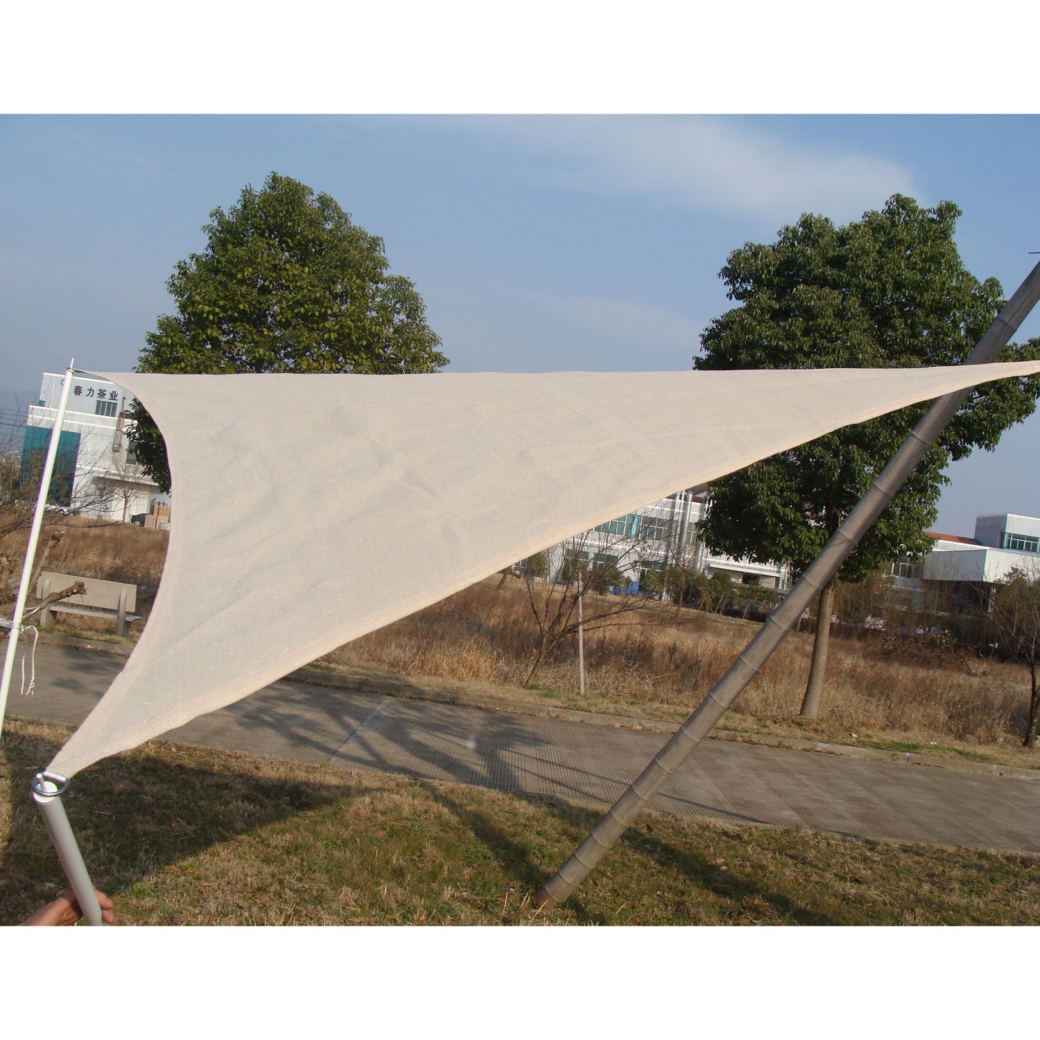 Outsunny10 Outdoor Patio Sun Shade Sail Canopy 10 Feet in Awnings