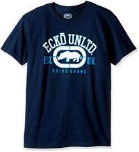 Ecko Unltd. Mens Rhino Remains Tee Shirt Tops Men T Summer Short Sleeves Cotton T-Shirts