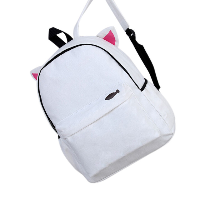 Canvas Backpack Cute Children Backpack Kids School Bag Small Mini Mochila Womens  Backpack Mochila Infantil  510 aa437602bb