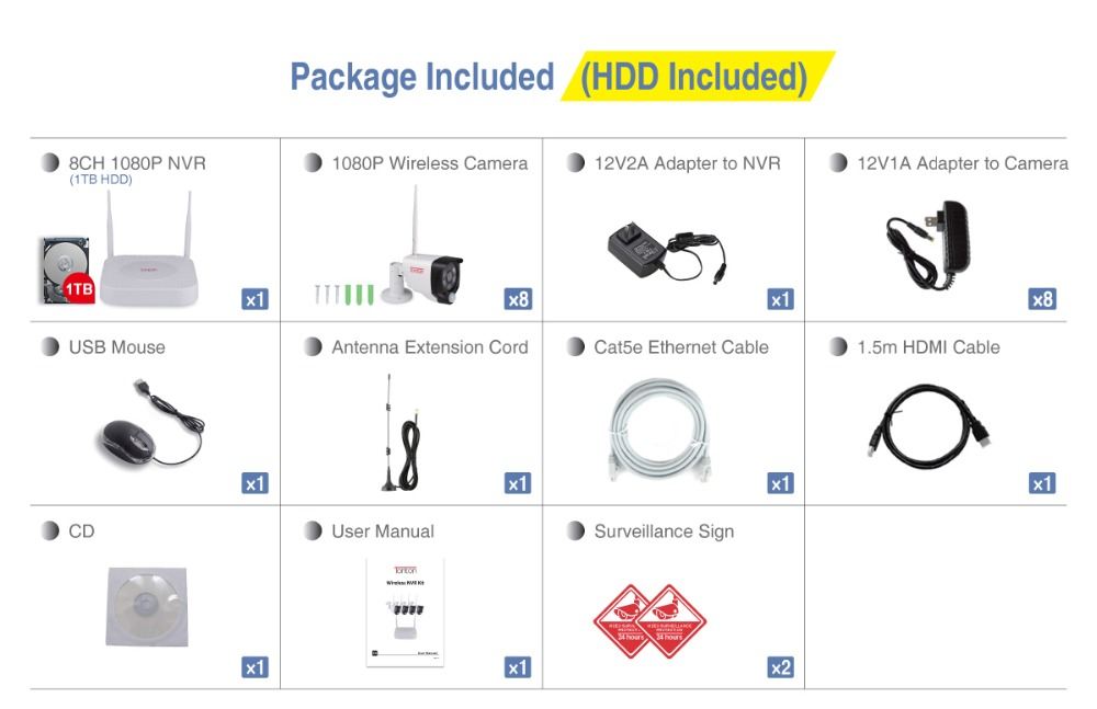 D5309NW8+8CAM_Package Included+1TB