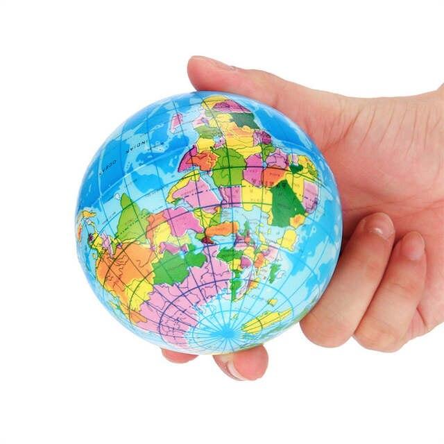 Atlas Globe Map.Online Shop High Quality Stress Relief World Map Foam Ball Atlas