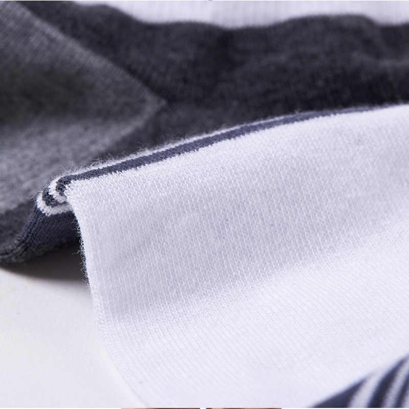 Czesana bawełna markowe męskie skarpetki, kolorowe męskie skarpety biznesowe 5 par/partia dla mężczyzn miękkie skarpetki 5 kolorów szybka wysyłka
