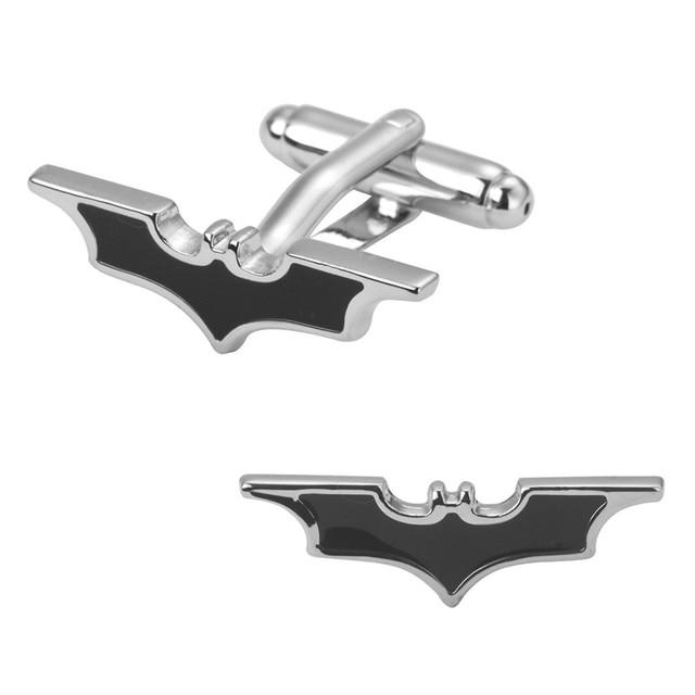A Pair Of High Quality Small Batman Wedding Gift Shirt Cufflinks