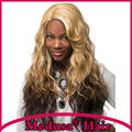 Medusa hair products: African american Synthetic wigs for women Chic Long wavy Mix color Afro rapunzel wig Peruca loira SW0240