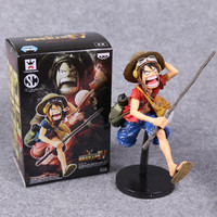 Free Shipping Anime One Piece Monkey D Luffy PVC Action Figure Collectible Model Toy 2 Colors
