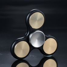 New Lovely Finger spinner Plastic Iron Hand Spinner Steel Bearing For Autism ADHD Anxiety Stress Relief