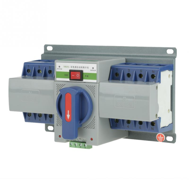 Yeq163 Automatic Transfer Switch In Circuit Breaker Auto Automatic