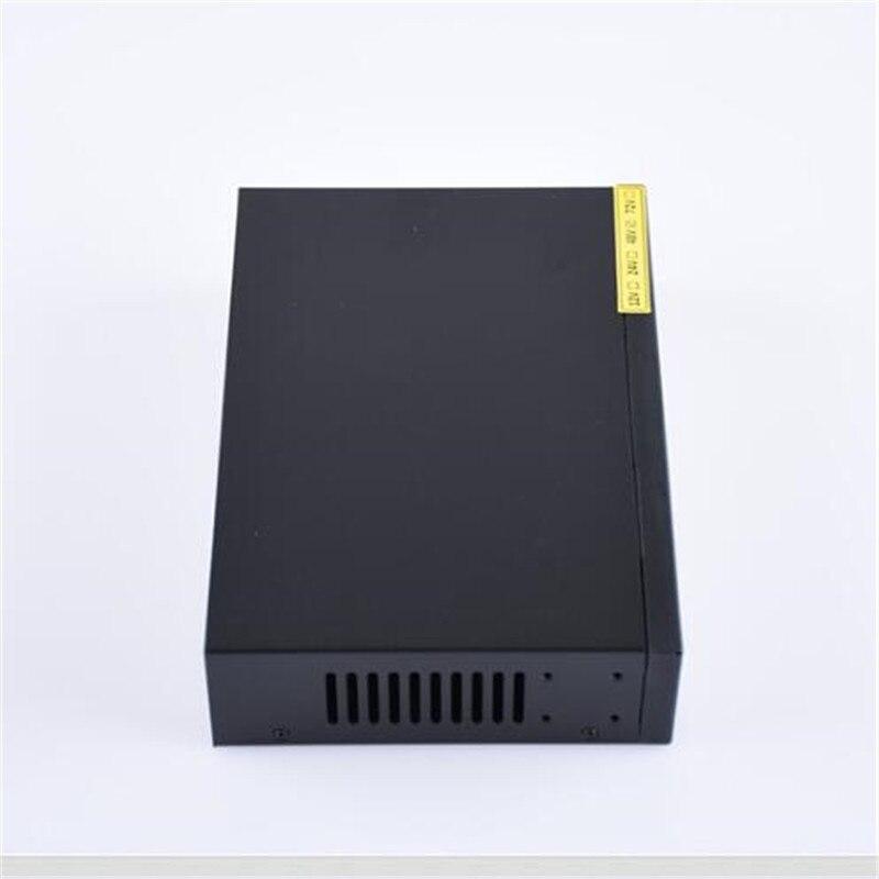 ANDDEAR XX8 48 v 8 port gigabit unmanaged poe switch 8*100/1000 mbps POE poort; 2*100/1000 mbps UP Link poort; 1*100/1000 mbps - 4