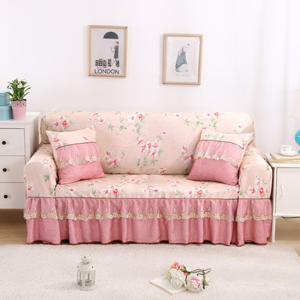 European Style Royal Deluxe Sofa Covers Lace Fabrics Living Room ...