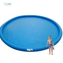 Inflatable Biggors Round Inflatable Swimming Pool For Water Park Rental