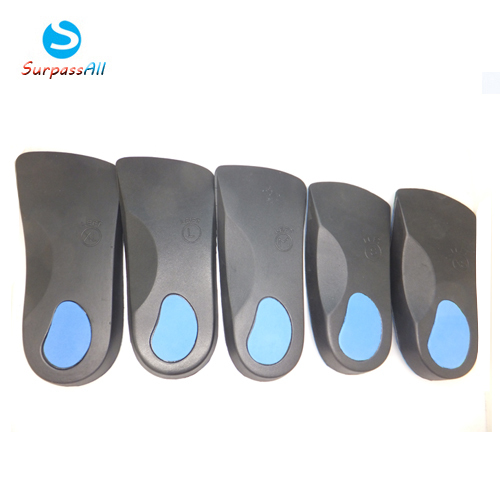 SOCOMFY Men/Women 3/4 Length Flat Feet Orthotic Orthopedic Insoles With Great Arch Support And Poron Heel Cushioning Pain Relief expfoot orthotic arch support shoe pad orthopedic insoles pu insoles for shoes breathable foot pads massage sport insole 045
