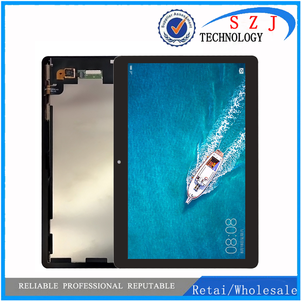 New 9.6 For Huawei MediaPad T3 10 AGS-L09 AGS-W09 AGS-L03 T3 9.6 LTE LCD Display with Touch Screen Digitizer Assembly for 9 6 huawei mediapad t3 10 ags l09 ags w09 ags l03 tablet lcd display matrix touch screen panel digitizer sensor replacement