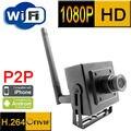 Ip-камера 1080 P wi-fi видеонаблюдения Беспроводная мини система 2-мегапиксельная видеонаблюдения небольшого домашнего видео cam viewer маленький монитор 1920*1080 P