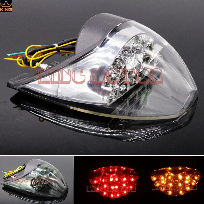 Для KTM 990 супер Дюк мотоцикл 2007-2012 Acccessories Интегрированный LED хвост свет свою очередь сигнал мигалка ясно
