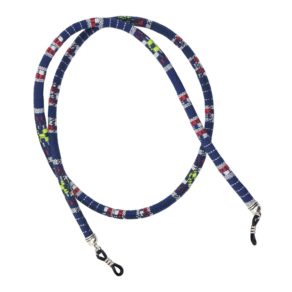 Multicolor Round Cord Sunglasses Neck Cord Strap Eyeglass Sunglasses String Chain for Women Man Reading Glasses Chain in Eyewear Accessories from Apparel Accessories
