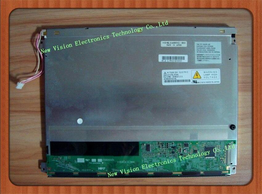 AA121SL03 AA121SL03A oryginalny 12.1 cal 800*600 TFT PANEL LCD dla MITSUBISHItft lcd panellcd panellcd tft panel -