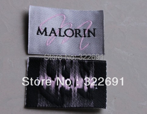 2014 high quality custom garment satin labels handmade free shipping and free sample - Free Sample Shoes