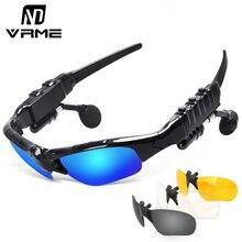 Bluetooth очки солнцезащитные очки беспроводная bluetooth-гарнитура стерео наушники с микрофоном handsfree для iphone samsung huawei xiaomi