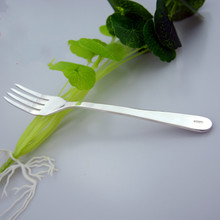 Pure Handmade Silver Tableware Knife And Fork Sterling  999 Western Food Three-piece Set knife