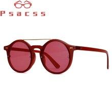 Psacss Round Sunglasses Women Men Vintage Luxury Brand Designer Sun Glasses Female Fashion Mirror Retro Lunette De Soleil Femme