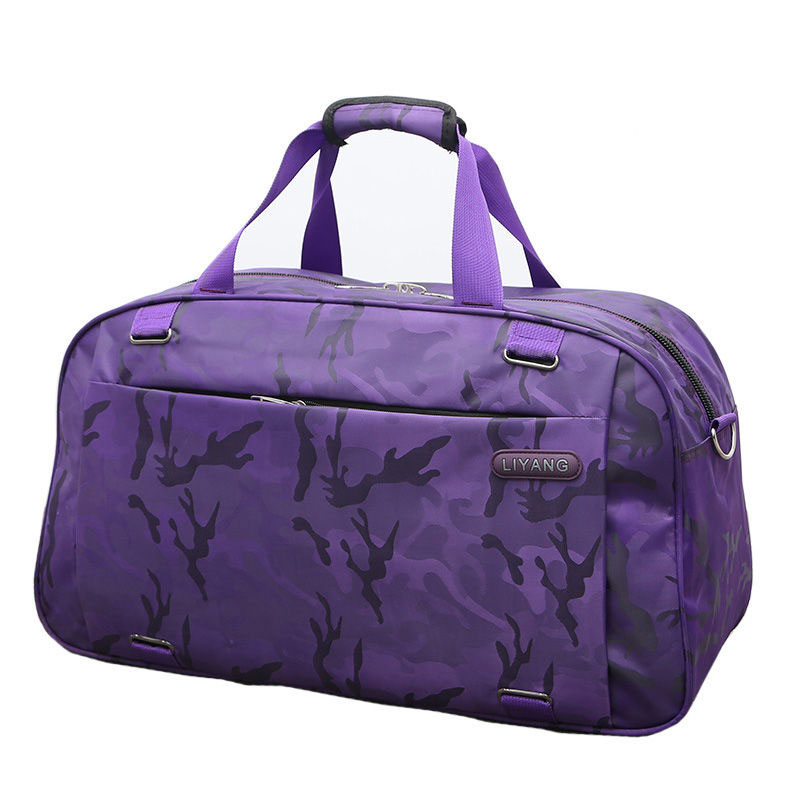 Camouflage Travelling Handdbags Waterproof Gym Bag Large Shoulder Bags Carry on Luggage Outdoor Sports Tote Women Men XA382WA