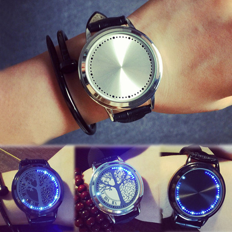 1pc lovers'Watch Harajuku style students money person