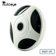 Autoeye 3D Fisheye VR IP Camera 960P 1 3MP 360 Degree Baby Monitor CCTV Camera Home