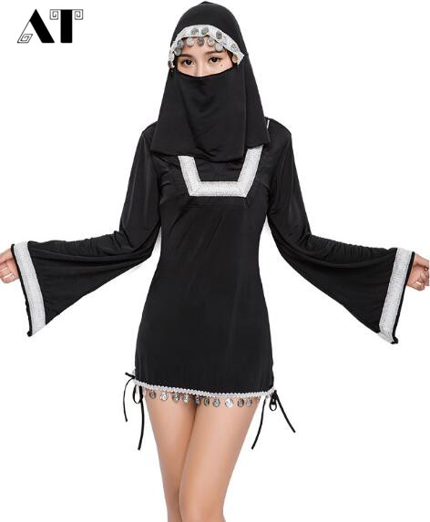 Role Play Nun Costume Sexy Women Costume Masquerade Fancy Dress Halloween Costumes for Women