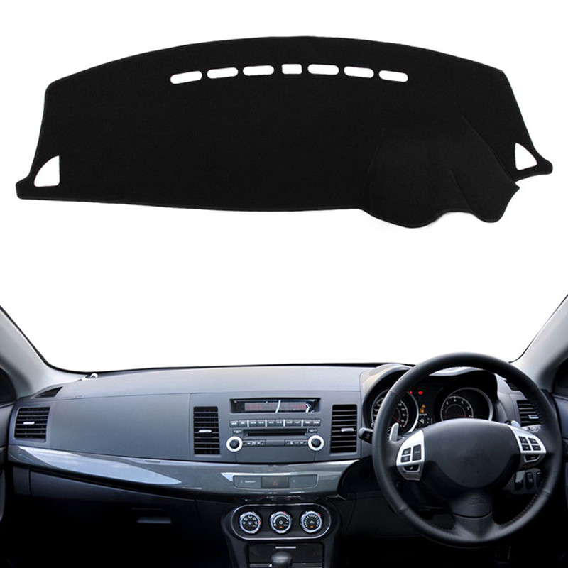 font b Car b font Dashboard Cover Mat Pad Sun Shade Instrument Carpet For Mitsubishi
