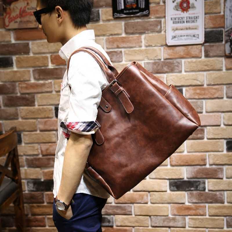 Tidog Korea tas Messenger Tas Tote tas travel laki-laki