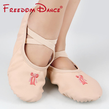 Kids Dance Shoes Girls Women Size 24-40 Athletic Dance Shoes Soft Ballet Slipper Ballet Pointe Dancing Shoes Yoga Fitness Shoes