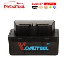 Obd2 super mini elm327 bluetooth obd2 v1.5 elm 327 v 1.5 obd 2 scanner de código automático elm-327 obdii adaptador ferramenta de diagnóstico do carro