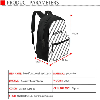 Nopersonality Cool Piano Pattern School Bag For Teen Girls And Boys Unique Preppy Children School Backpack Primary Kids Bookbags
