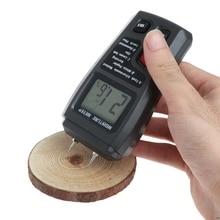 Meter-Analyzer Hygrometer Wood Moisture Humidity-Tester Timber-Damp-Detector OOTDTY 2-Pin