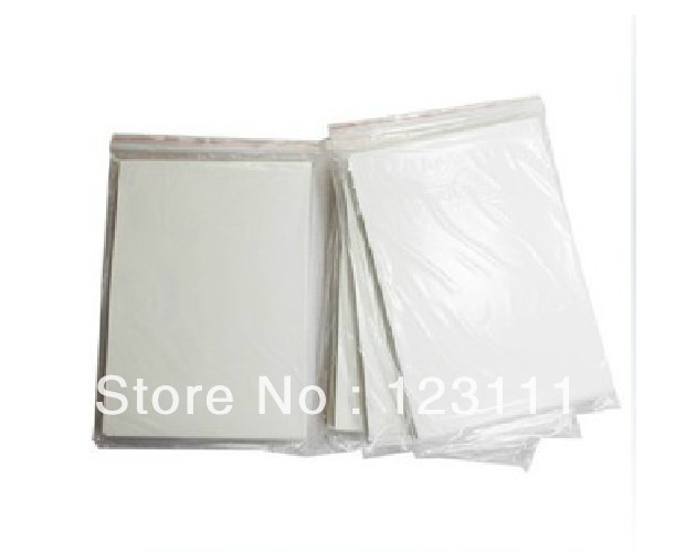 100 sheets A4 size heat tansfer sublimation paper Perfect color High Density rate for Epson/Mimaki/Roland/Mutoh