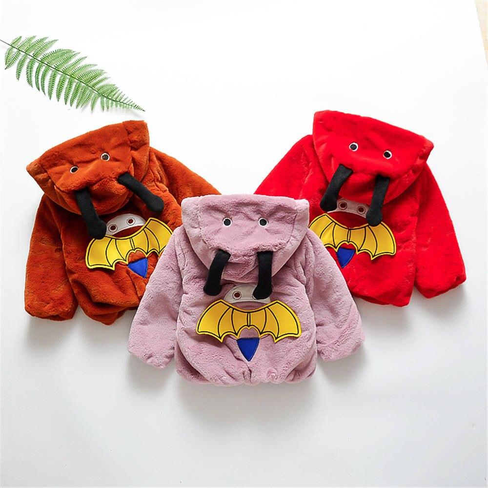 Jungen Kleidung Kleinkind Baby Jungen Mädchen Cartoon Lange Hülse Hoodie Winter Warme Kleidung Mantel Von Der Konsumierenden öFfentlichkeit Hoch Gelobt Und GeschäTzt Zu Werden