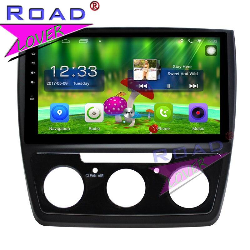 Topnavi Android 6.0 2 г + 32 ГБ 10.1 дюйма 4 ядра автомобиля media center игрока для Skoda Yeti 2016 стерео GPS навигации нет DVD MP4 2din