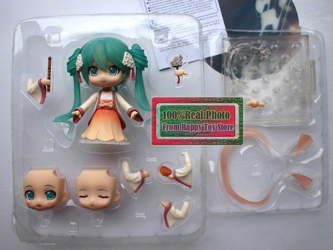 10cm Japanese Anime Doll Cute Nendoroid Hatsune Miku Mid-Autumn Miku #539 PVC Action Figure Model Toy Doll 4 title=