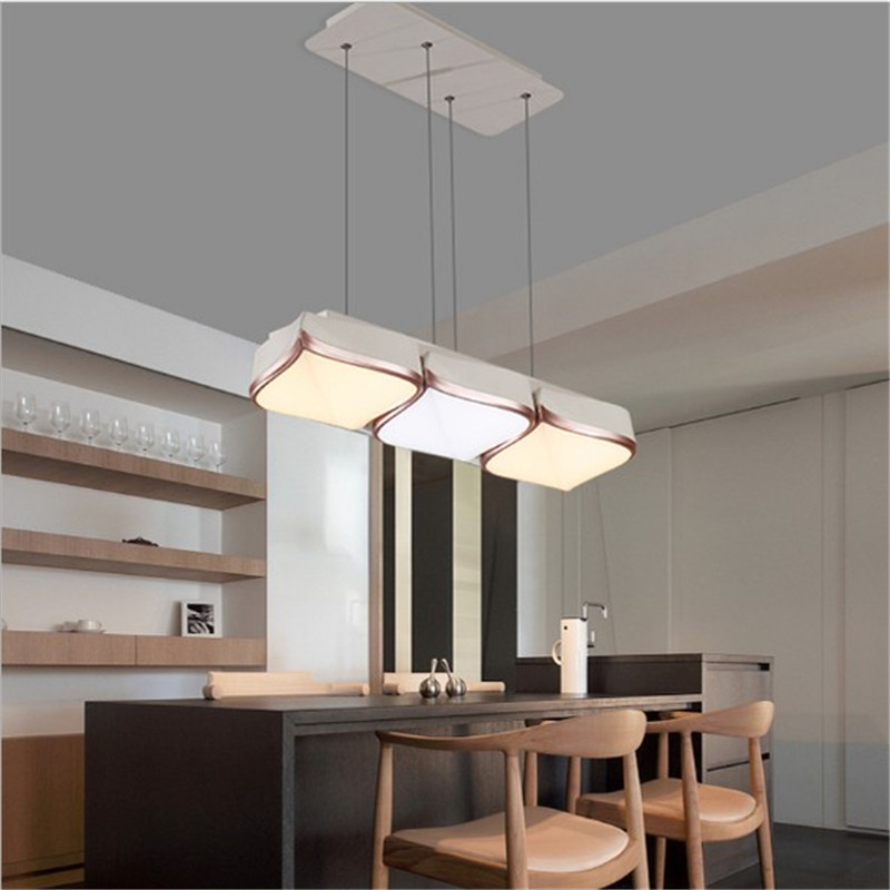 LED Lamp Chandelier Modern Acrylic Kitchen Lamparas De Techo Home Lighting For Living Dining room Suspension Luminaire Lights 2017 acrylic modern led ceiling lights fixtures for living room lamparas de techo simplicity ceiling lamp home decoration