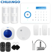 Chuango 315MHZ PSTN Home Security Alarm System RFID Card Wireless Smart Home Burglar Alarm